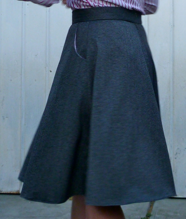 Hollyburn skirt hanging