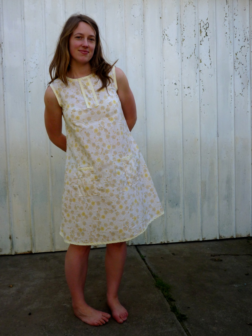 easy shift dress to sew