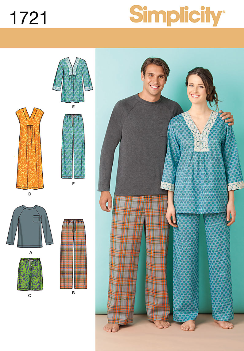 Simplicity Pajama Patterns Cool Design