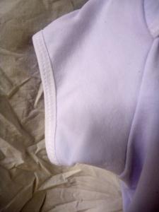 Jalie 3133 raglan baby FOE fold over elastic sleeve