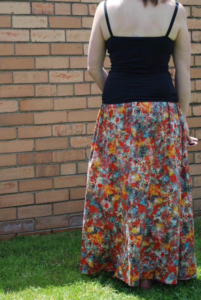 saltspring skirt elastic waistband skirt
